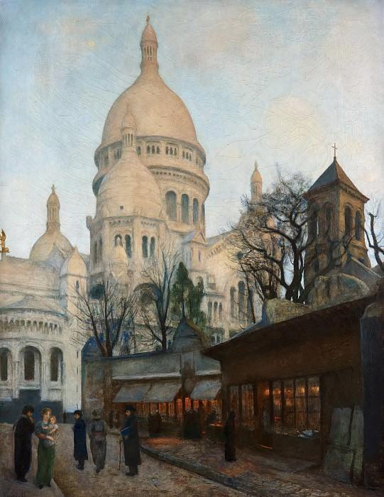 Базилика Сакре-Кёр, Париж. Ханс Олаф Хейердал