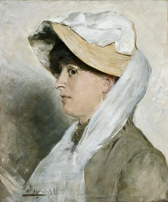 Женский портрет. Ханс Олаф Хейердал