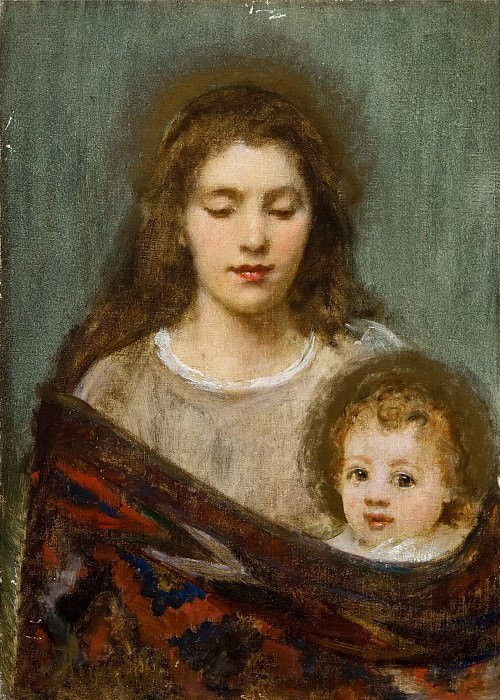Мать с ребенком. Ханс Олаф Хейердал