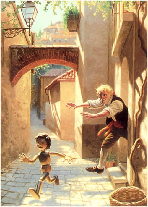 io4f122 PinocchioRunsAway. Грег Хильдебрандт