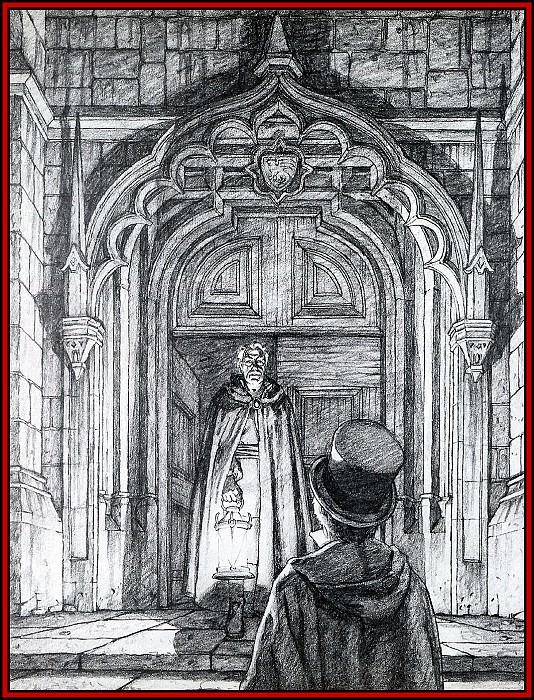 D50 Hildebrandt Greg Dracula 03 The Count. Грег Хильдебрандт