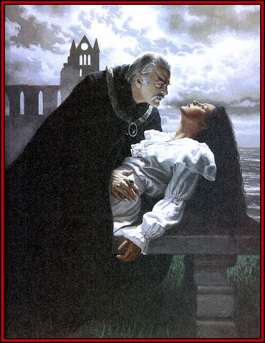 D50 Hildebrandt Greg Dracula 08 Lucy Westenra. Грег Хильдебрандт