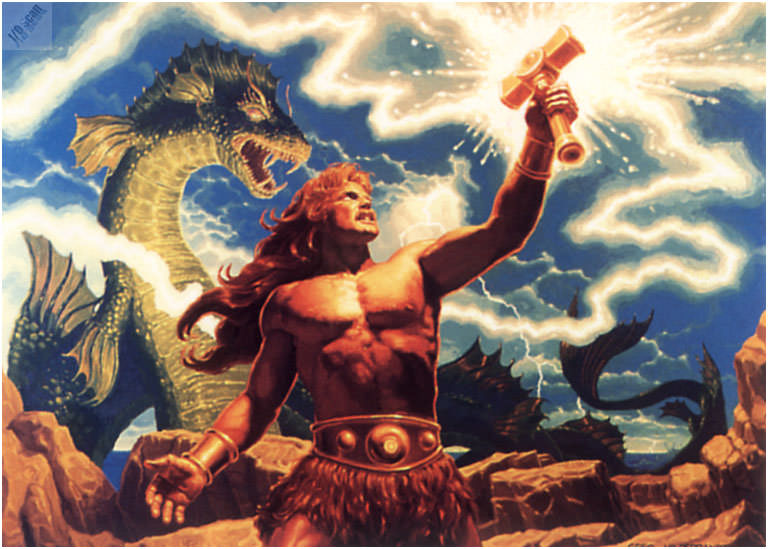 io4f088 Thor. Грег Хильдебрандт