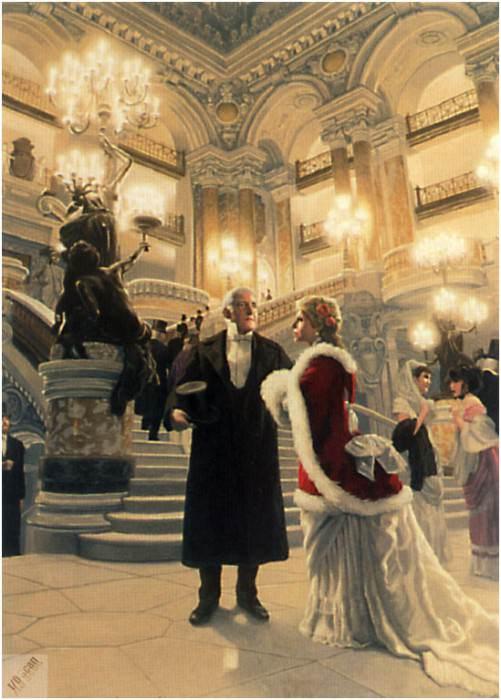 Большое фойе Парижской оперы. Грег Хильдебрандт