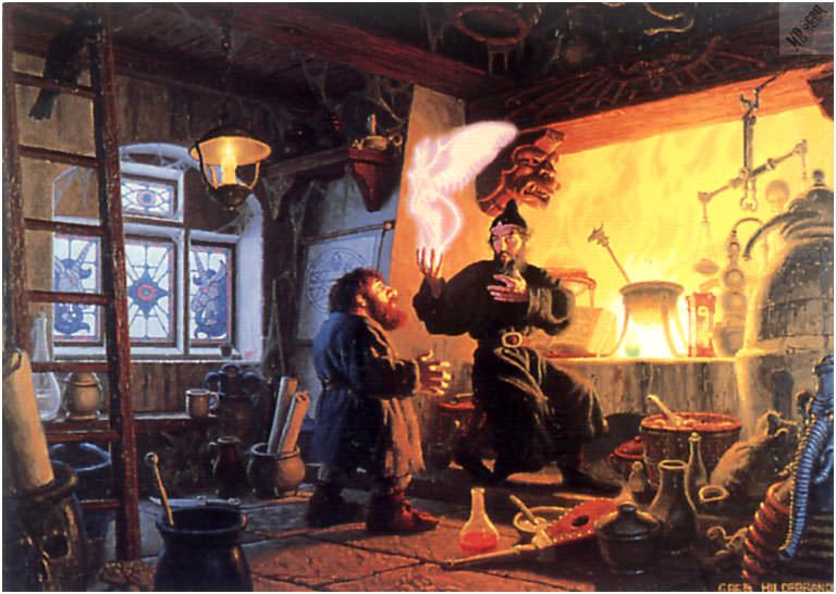 Логово колдунов. Грег Хильдебрандт