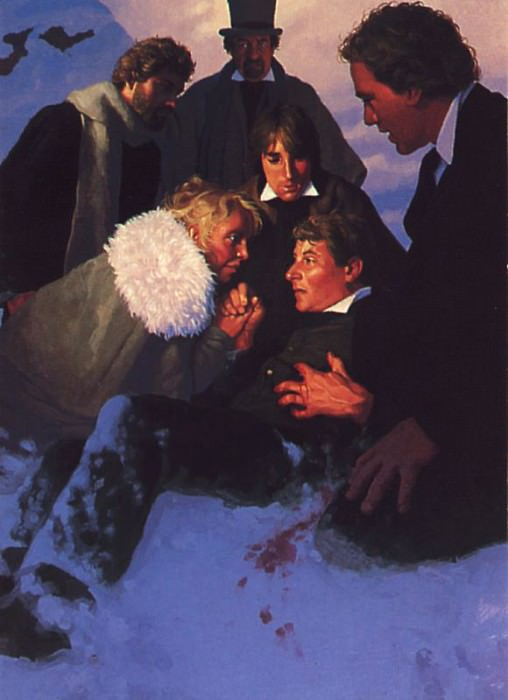 al Hildebrandt G C071 Dracula The Loss of a Friend. Грег Хильдебрандт