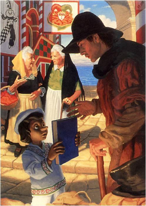 io4f075 PinocchioSellsHisBook. Грег Хильдебрандт