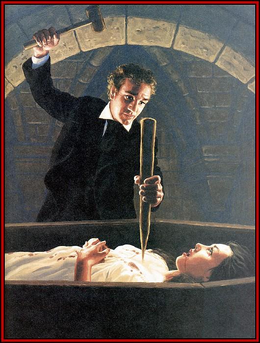 D50 Hildebrandt Greg Dracula 13 No Longer Undead. Грег Хильдебрандт