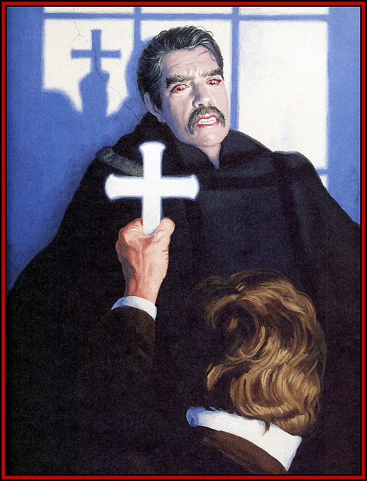 D50 Hildebrandt Greg Dracula 16 Dracula at Bay. Грег Хильдебрандт