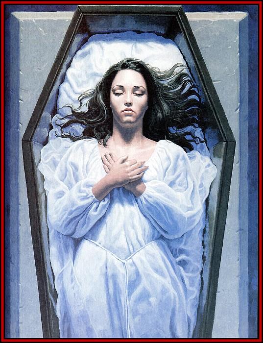 D50 Hildebrandt Greg Dracula 11 Lucy Undead. Грег Хильдебрандт