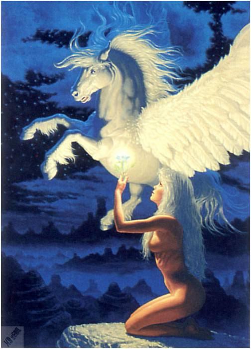 io4f137 WingedMessenger. Грег Хильдебрандт