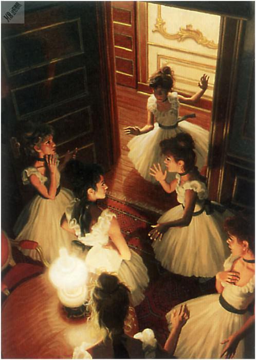 Смятение среди танцовщиц. Грег Хильдебрандт