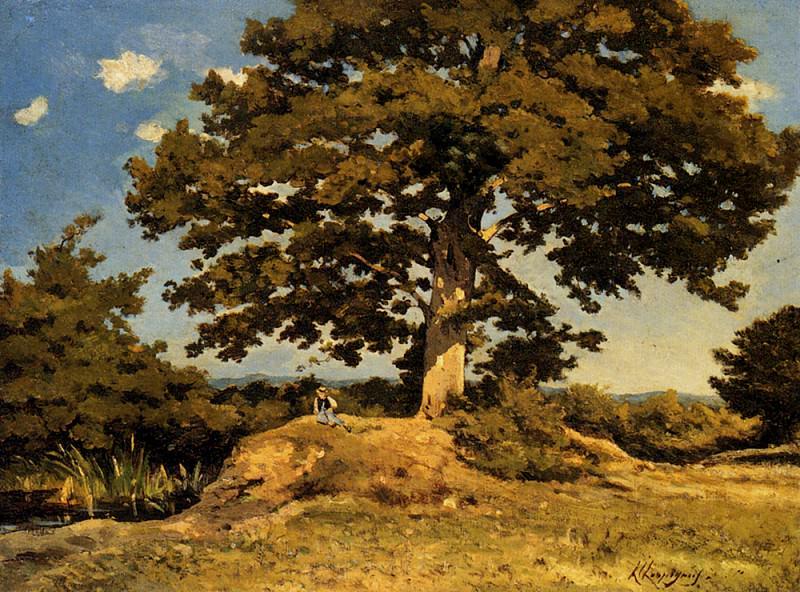 Большое дерево. Анри Жозеф Арпиньи
