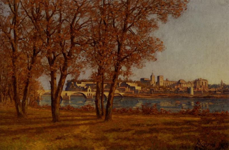Папский замок в Авиньоне. Анри Жозеф Арпиньи