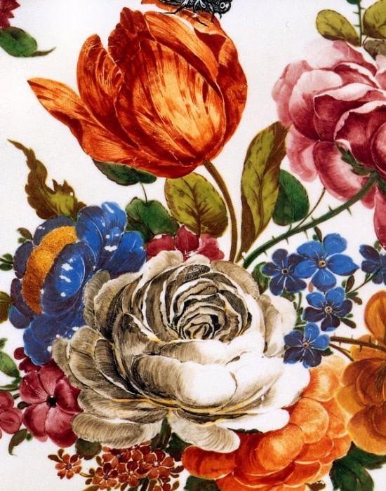 Porcelaine de Nymphenburg. Jan Van Huysum