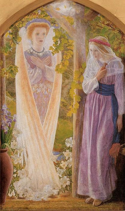 The Annunciation. Arthur Hughes
