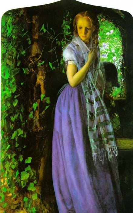 April love. Arthur Hughes