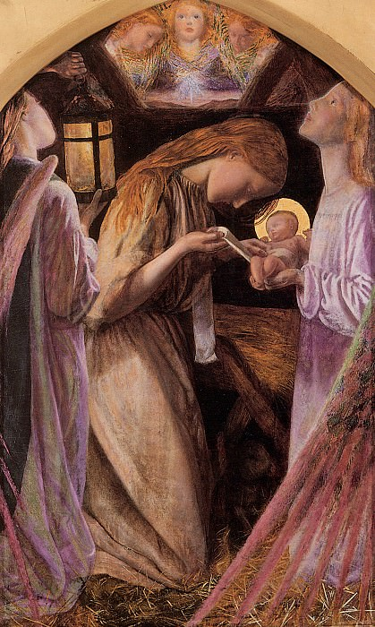 The Nativity. Arthur Hughes