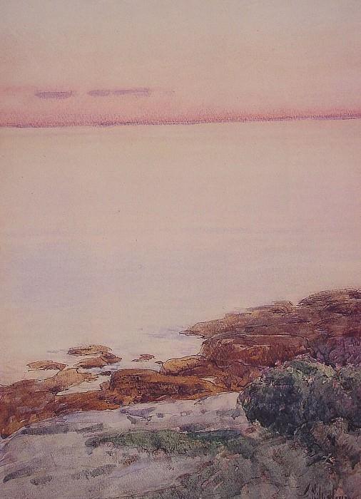 Намывные песчаные острова. Чайлд Фредерик Хассам