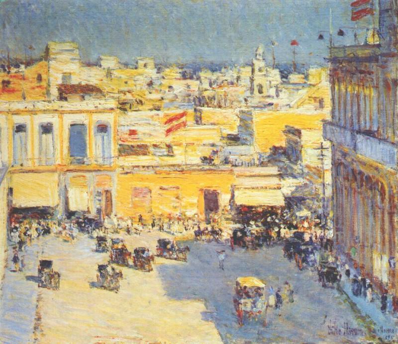 Гаванна, 1895. Чайлд Фредерик Хассам