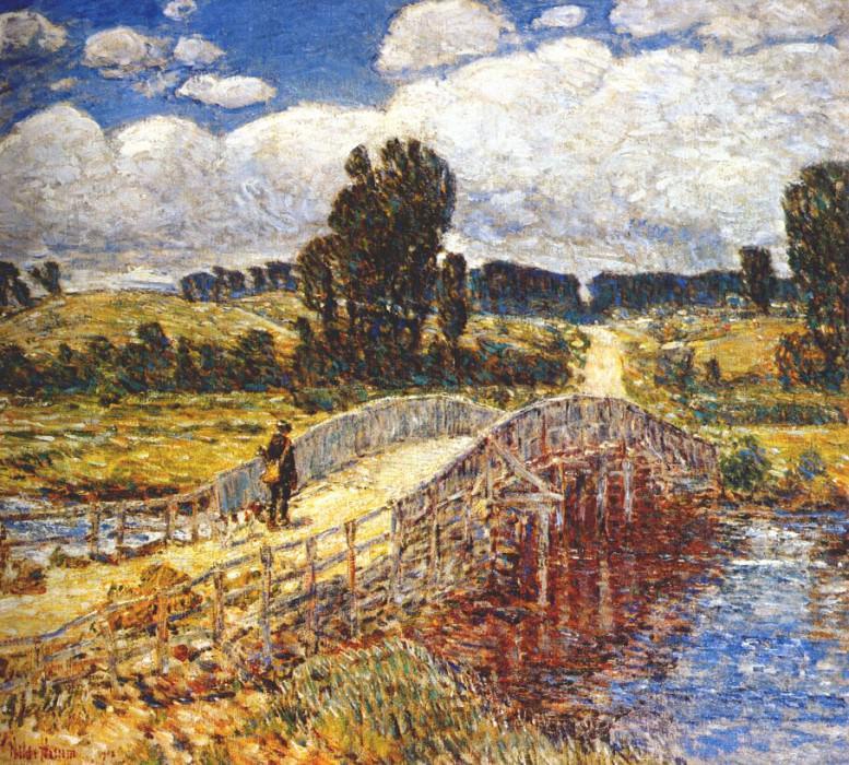 Мост у Олд-Лайма, 1908. Чайлд Фредерик Хассам