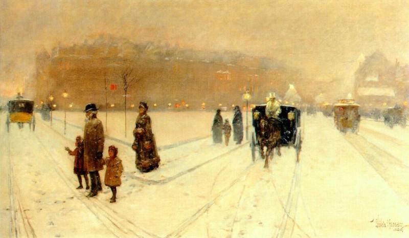 Город из сказки, 1886. Чайлд Фредерик Хассам