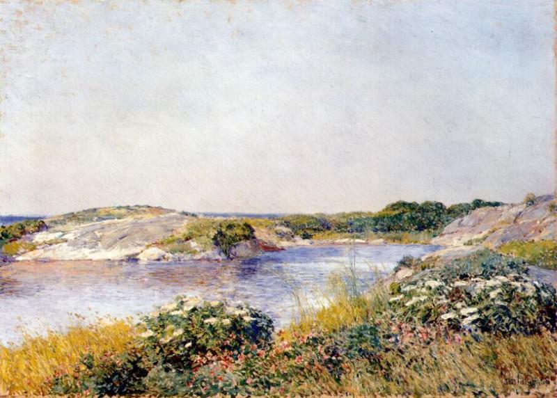 Маленький пруд, Эплдор, 1890. Чайлд Фредерик Хассам