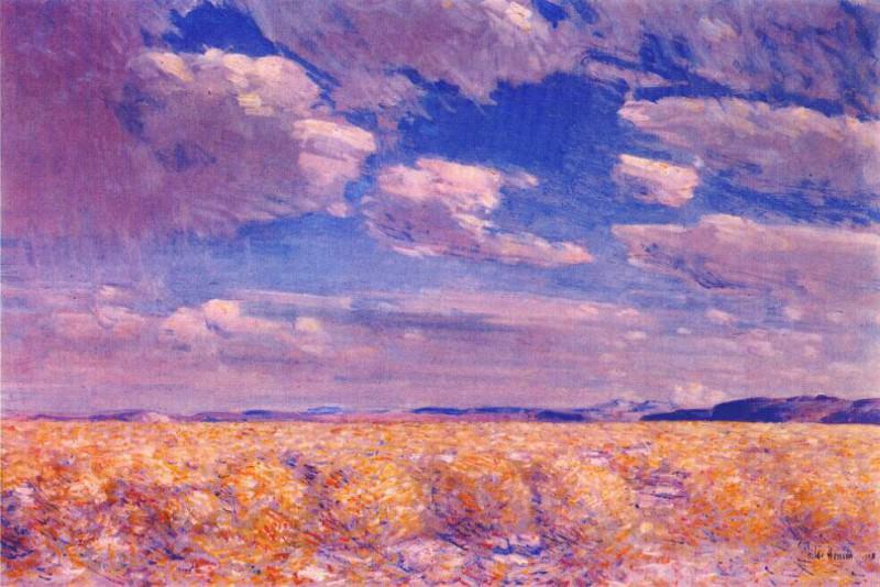 Небо над пустыней Харни в полдень, 1908. Чайлд Фредерик Хассам