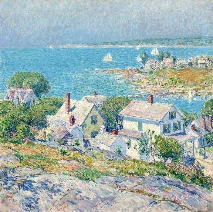 Мысы в Новой Англии, 1899. Чайлд Фредерик Хассам