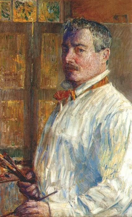 Автопортрет, 1914. Чайлд Фредерик Хассам
