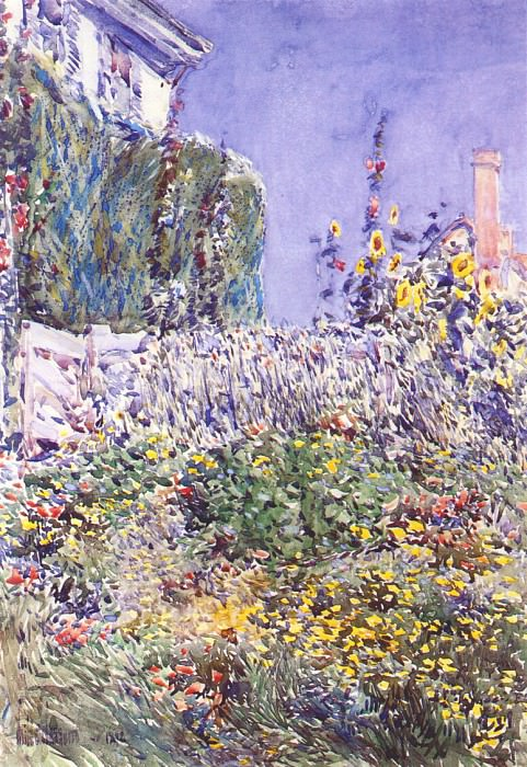 Сад Декстера, 1892. Чайлд Фредерик Хассам