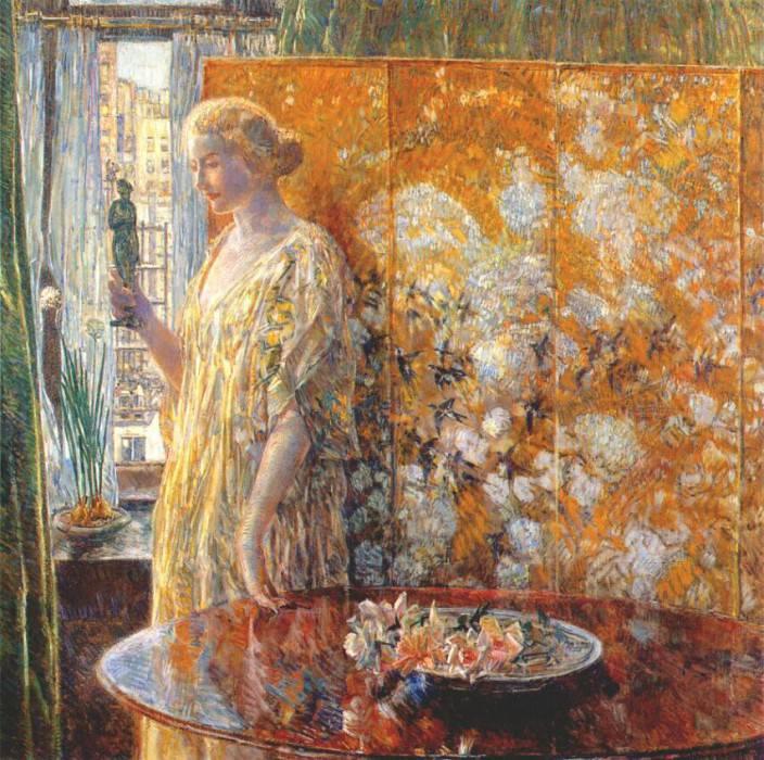 Танагра (Строители, Нью-Йорк), 1918. Чайлд Фредерик Хассам