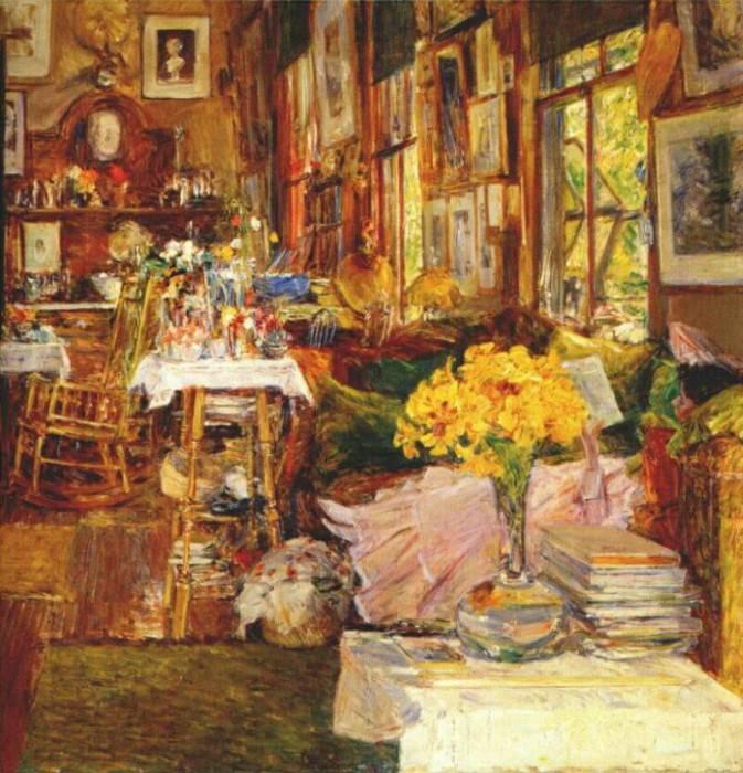 Цветочная комната, 1894. Чайлд Фредерик Хассам