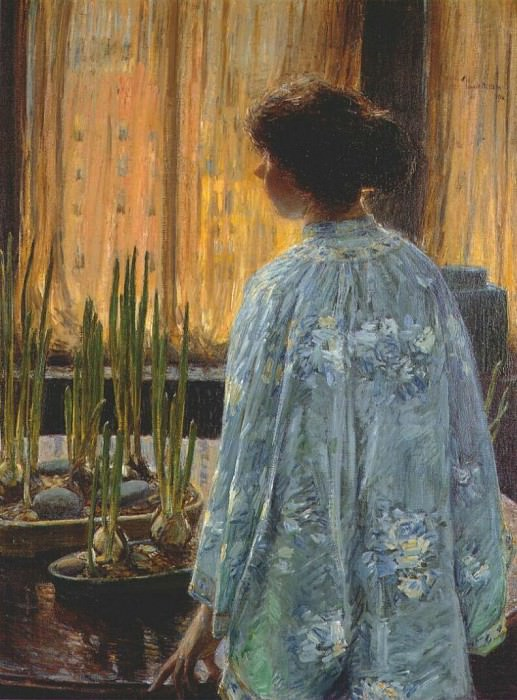 Сад на столе, 1910. Чайлд Фредерик Хассам