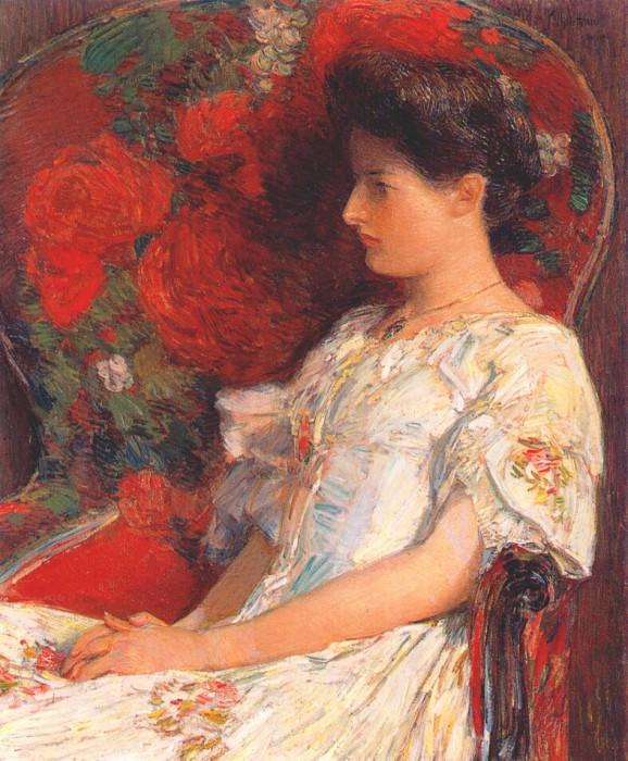 Викторианское кресло, 1906. Чайлд Фредерик Хассам