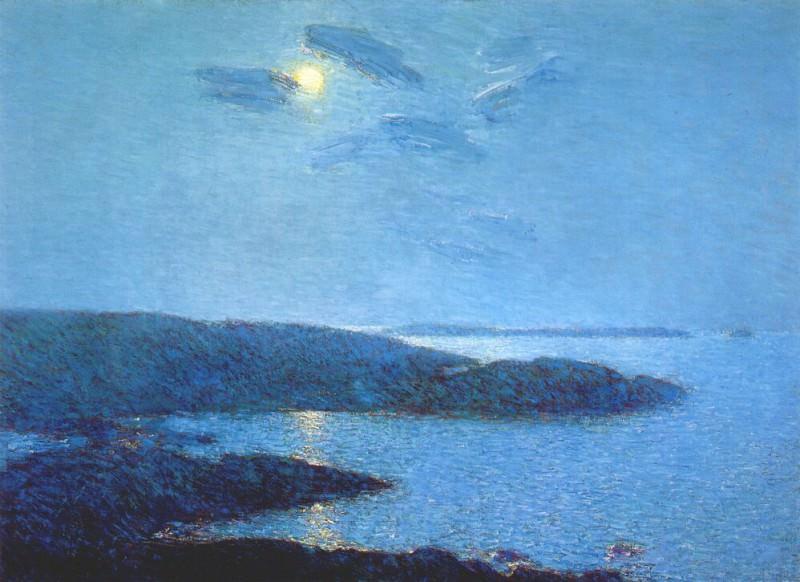 Лунный свет, 1907. Чайлд Фредерик Хассам