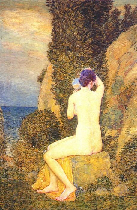 Афродита, Эплдор, 1908. Чайлд Фредерик Хассам