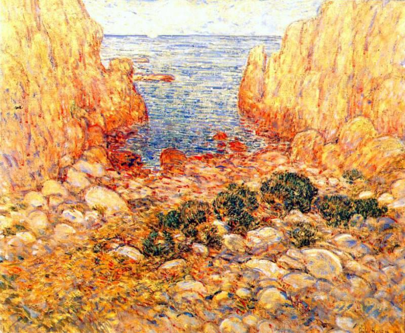 Узкий проход, Эплдор, песчаные острова, 1901. Чайлд Фредерик Хассам