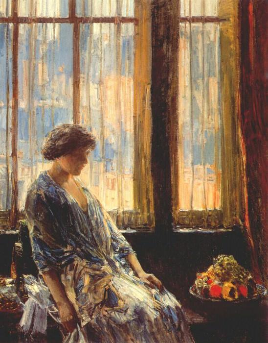 Нью-Йоркское окно, 1912. Чайлд Фредерик Хассам