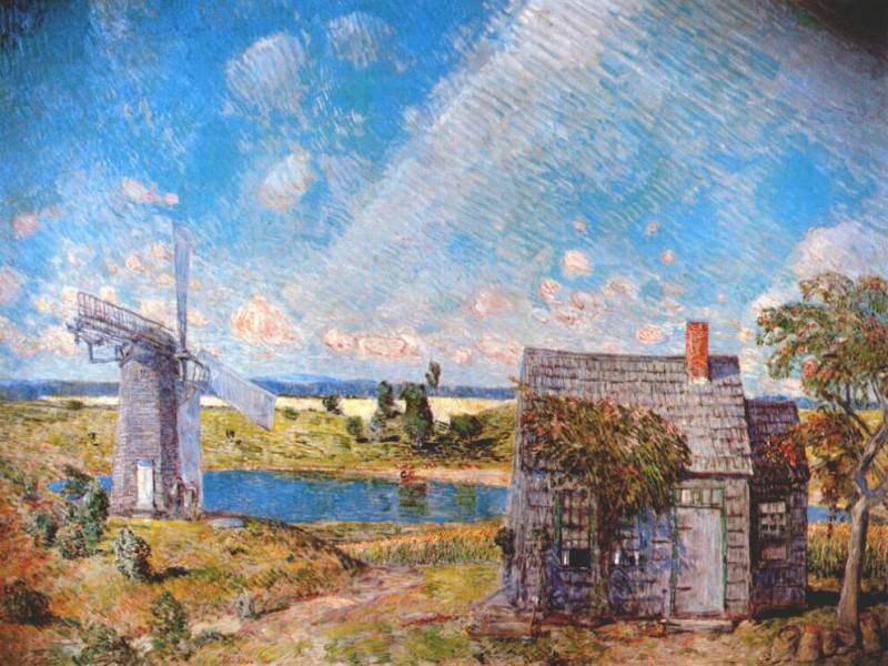 Пейзаж старого Лонг-Айленда, 1920. Чайлд Фредерик Хассам