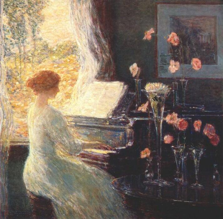 the sonata 1911. Childe Frederick Hassam
