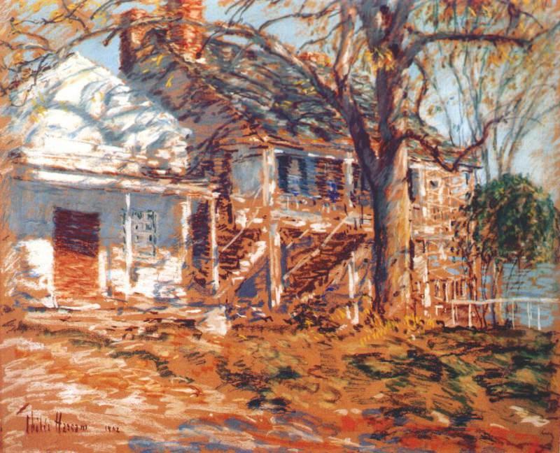 Дом, требующий ремонта, 1902. Чайлд Фредерик Хассам