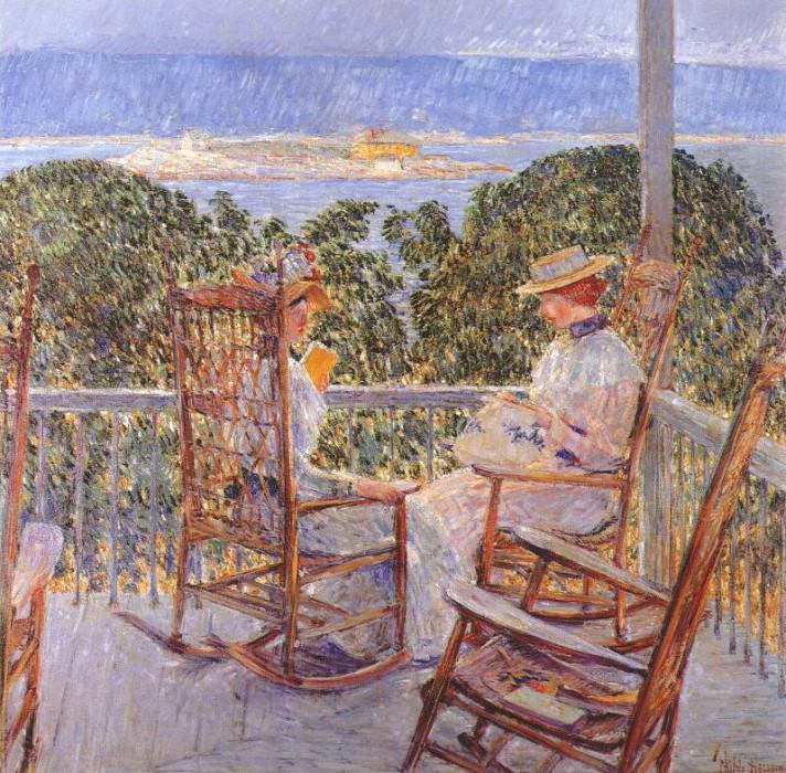 Остров -Десять фунтов-, 1896. Чайлд Фредерик Хассам