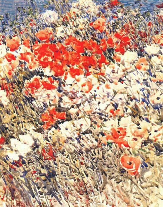 Островной сад, 1892. Чайлд Фредерик Хассам