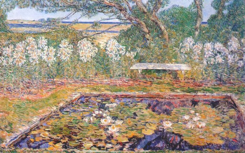 Сад на Лонг-Айленде, 1922. Чайлд Фредерик Хассам