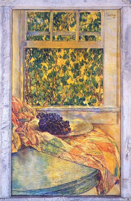 Колониальное стеганое одеяло, 1922. Чайлд Фредерик Хассам