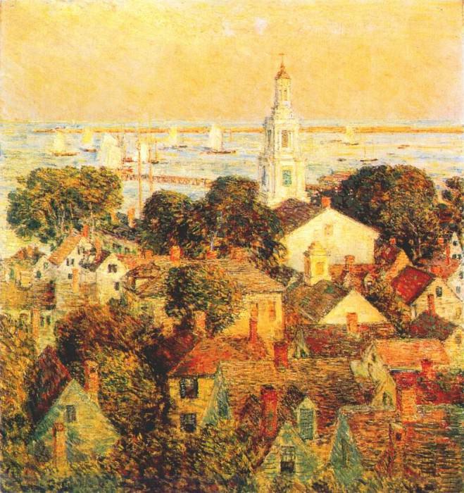 Провинстаун, 1900. Чайлд Фредерик Хассам
