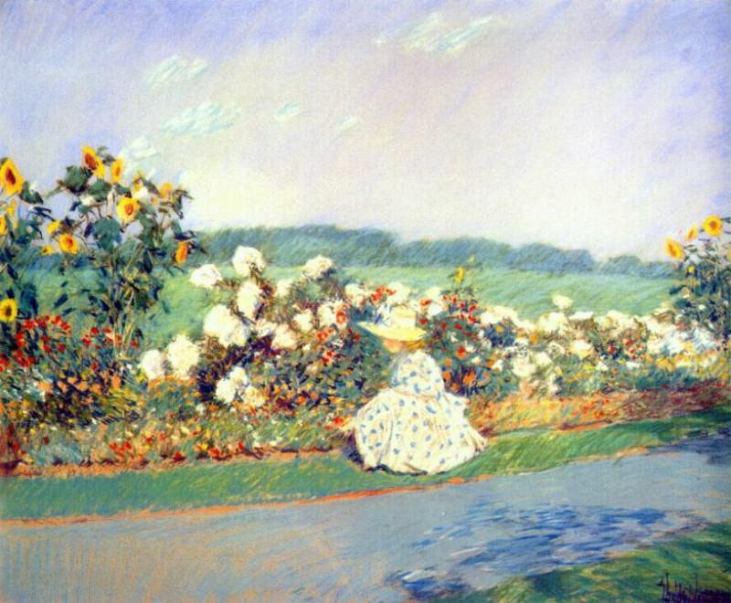 Лето, 1891. Чайлд Фредерик Хассам