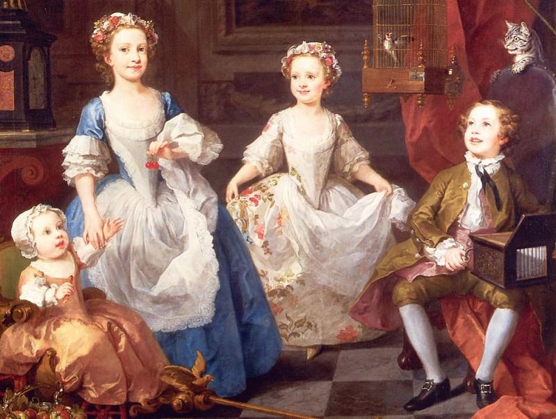 The Graham Children. William Hogarth