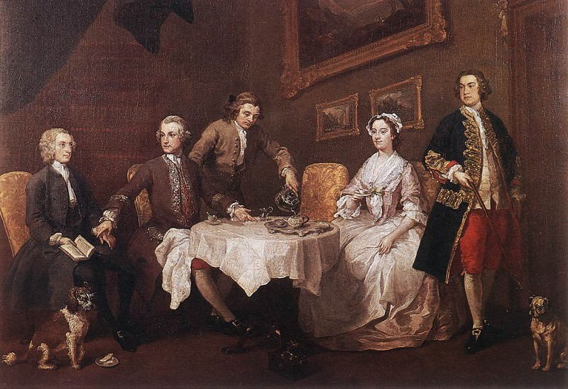 strode. William Hogarth